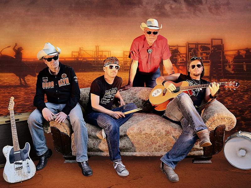 Nashville - Die Band. Austro Americans bei Waniek Events