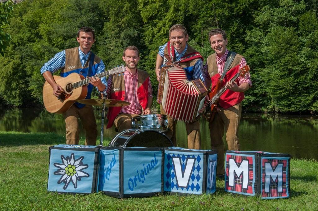 Die Original Voigas Musikanten bei Waniek Events